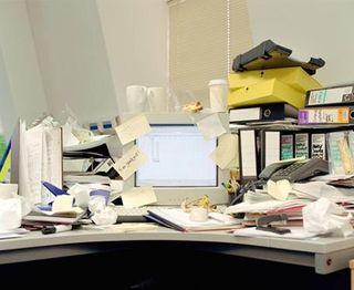 Paper-clutter